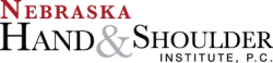 Nebraska Hand & Shoulder Logo